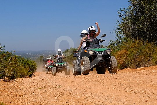 Quad and buggy tours old roads in Albufeira