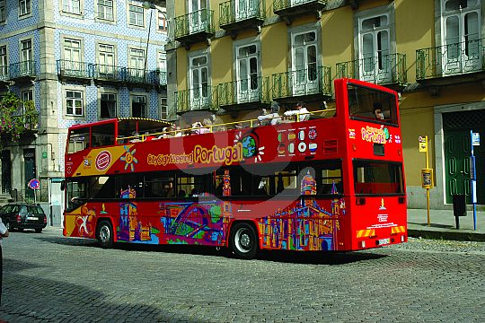 City Sightseeing Funchal in bus