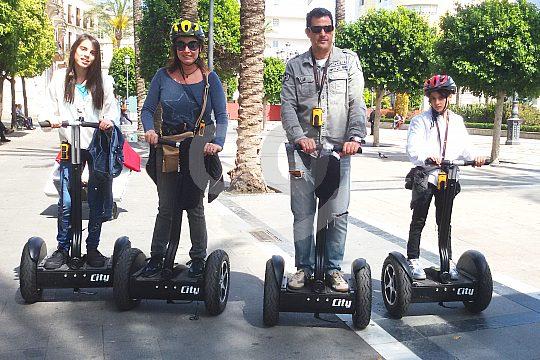 Segway tour through Cadiz