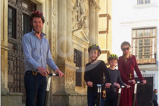 family tour by Segway
