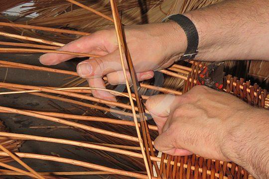 basket maker in Madeira
