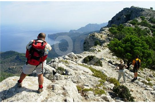 hiking in the west of mallorca