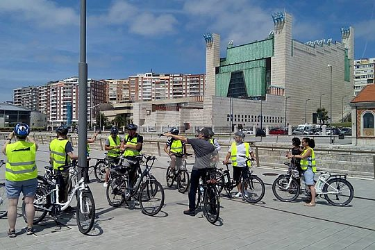 tour with guide in Santander by e-bike