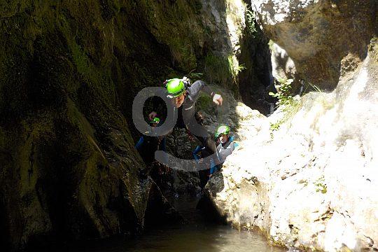 Canyoning Etxebarria
