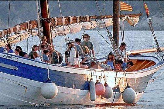 sailing at Costa Brava