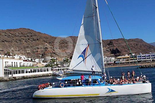 Catamaran tour Mogán