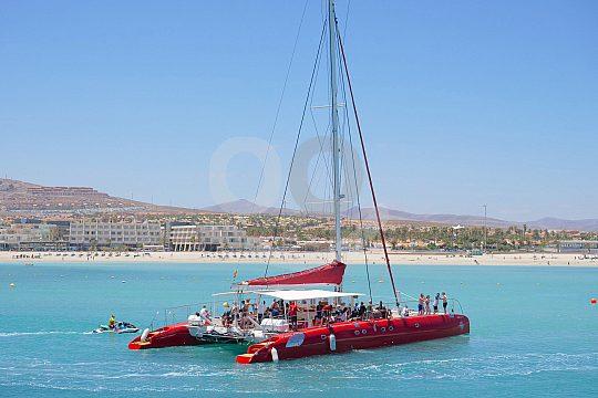 Fuerteventura catamaran trip Caleta de Fuste