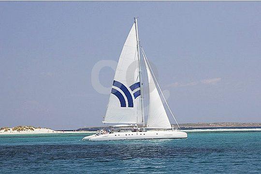 Formentera catamaran tour