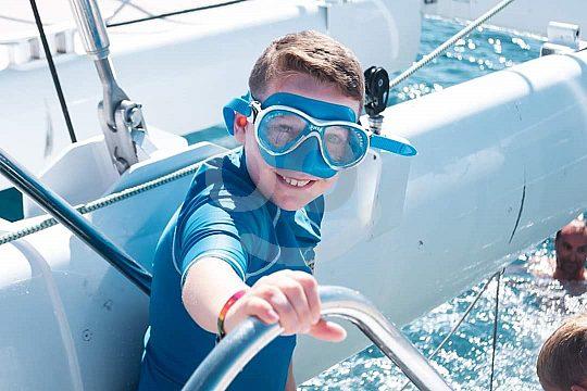 Katamarantour für Kinder auf Lanzarote