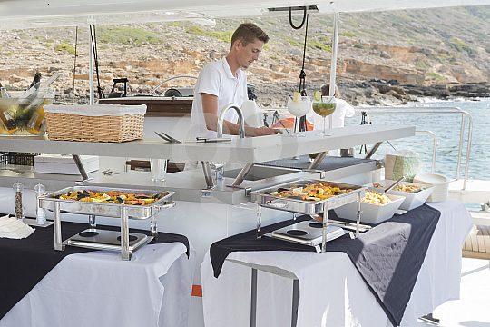buffet on board