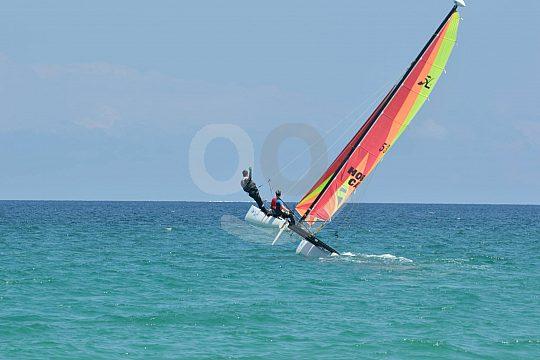 Mallorca north catamaran sailing