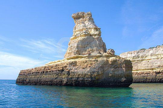Algarve coast rocks