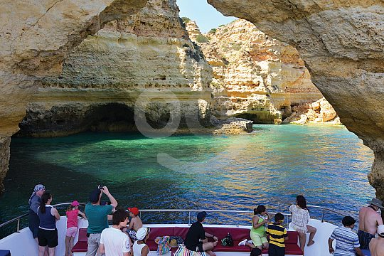 Drive through a cave in the Algarve