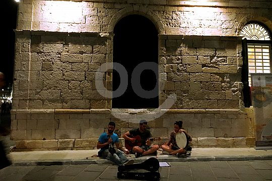 Nightlife in Chania on Crete