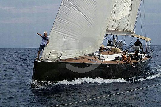 luxury sailing yacht Hanse 630e