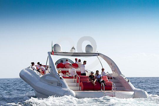 the Playa de las Americas speedboat rental