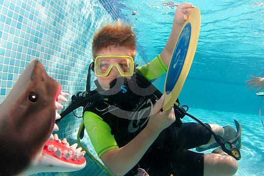 La Manga scuba diving with children