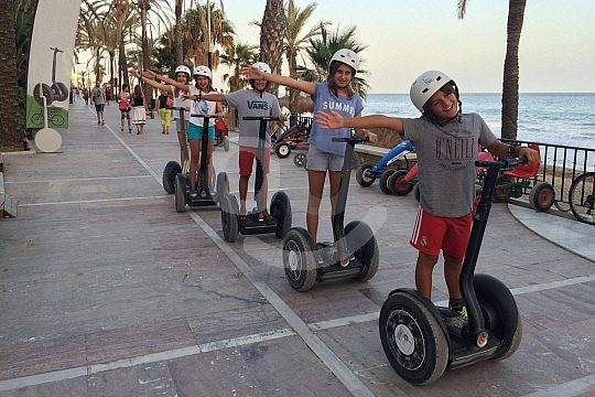 the best Segway tour of Marbella