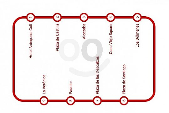 route sightseeing train Antequera