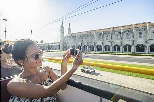 Explore Lisbon by bus