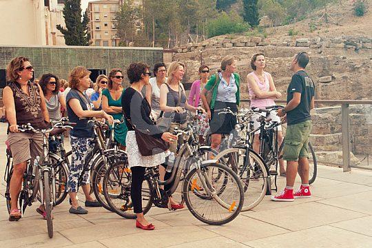 Malaga bicycle tour