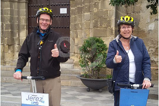 city tour by Segway tour in Jerez