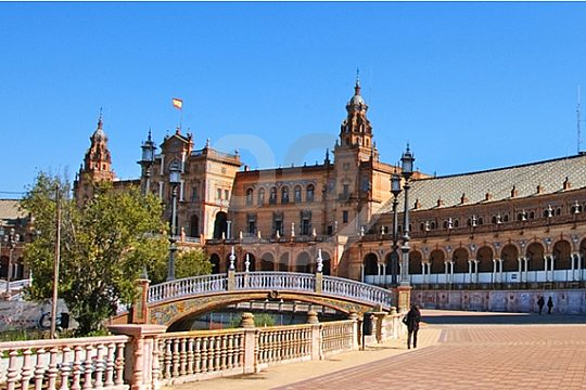 guided city tour in Seville