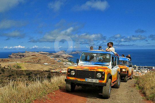 on Jeep Safari on Madeira