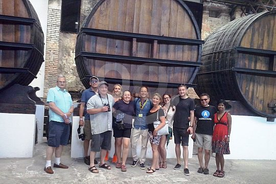 visit the wine cellars Codorníu