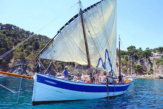 Costa Brava sailing excursion with degustation