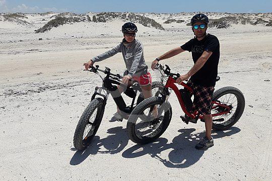 Geführte Tour auf dem Ebike von Corralejo