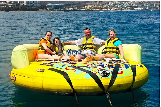Morro Jable modern watersports for the whole family