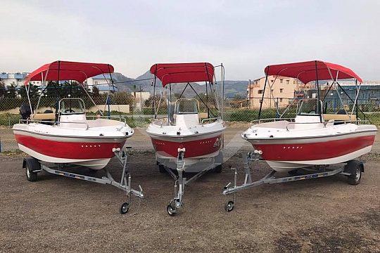 Bootsverleih auf Kreta