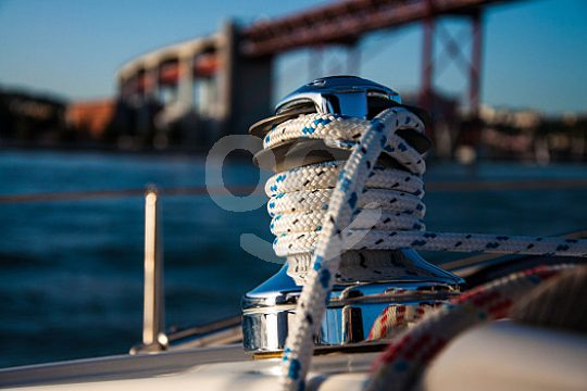 Enjoy romantic atmosphere while sailing on the Tagus
