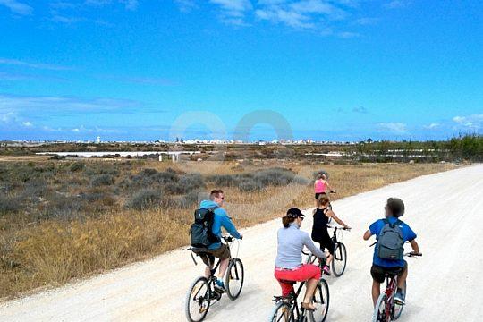 Cycling tour Algarve group view