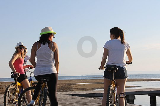 bike tour through Ebro Delta