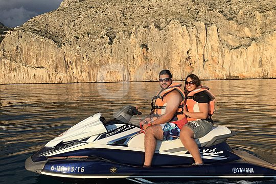 Tour by Jet-ski from Dénia