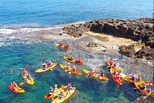 go kayaking from Dénia