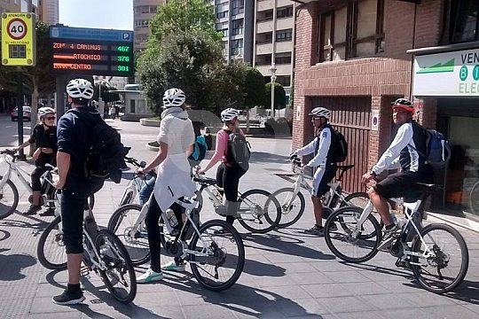 explore Santander by electric bike