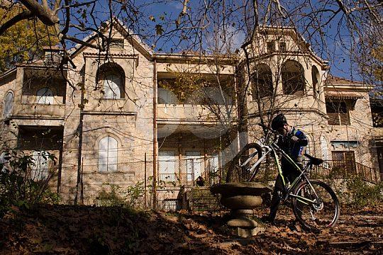 mountain bike tour near Athens