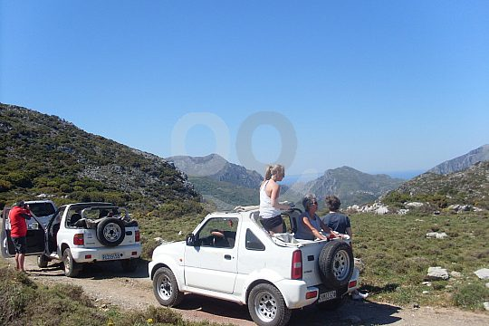 jeep tour from Rethymno mountains