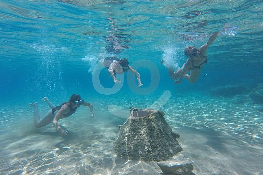 exciting underwater exploration during snorkeling