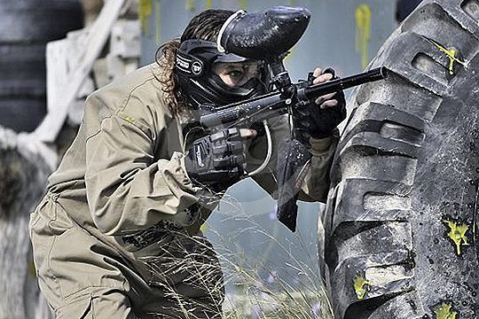 Complete equipment for paintball in Galicia