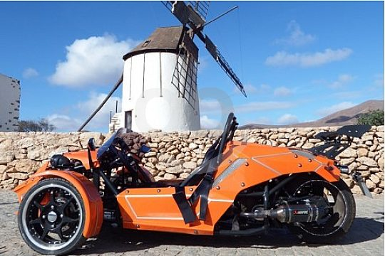 Trike Tour with guide in Fuerteventura