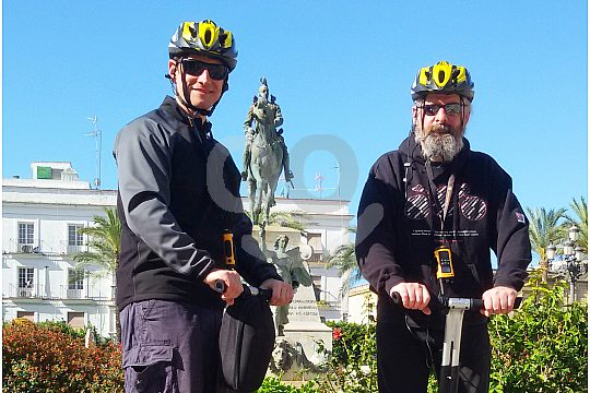 Sightseeing tour in Cadiz by Segway