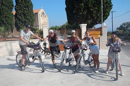discover the monastery in Crete by e-bike