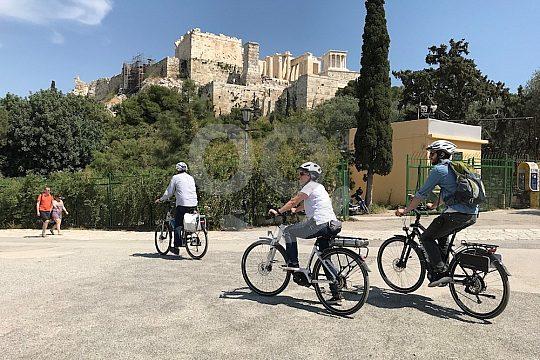 Athens e-bike tour Acropolis