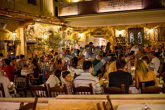 Local restaurant in Chania
