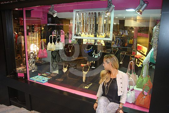 Exclusive shopping in Marbella