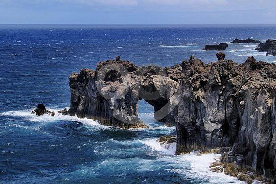Coastal panorama on El Hierro